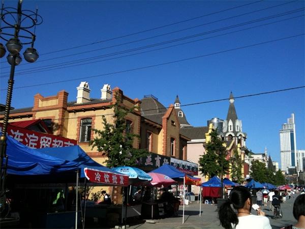ロシア風情街(旧ロシア人街)